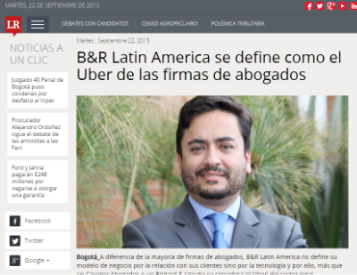 Alvaro Ramirez Founder and CEO at Diario La Republica